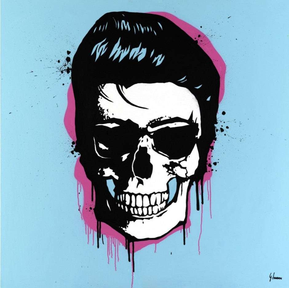 george ioannou elvis skull
