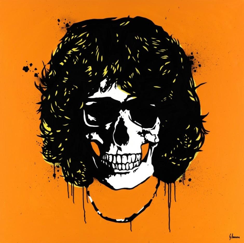 george ioannou jim morrison skull