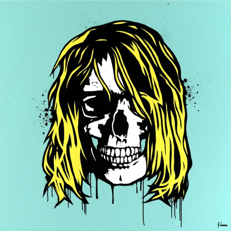 george ioannou kurt cobain skull