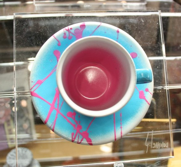 Graffi-tea Cup by George Ioannou