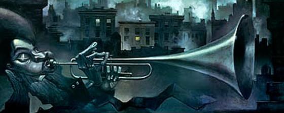 justin bua trumpet man