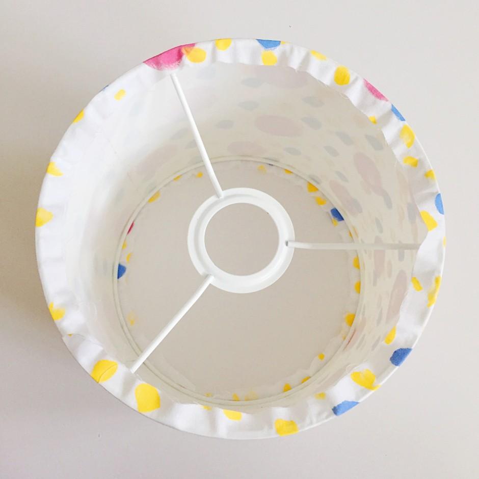 Kate Marsden Painted Lampshade Workshop 7
