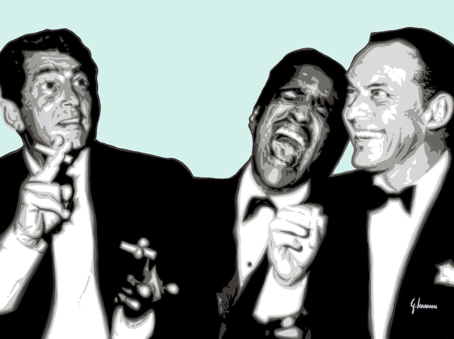 The Rat Pack (Green) By George Ioannou
