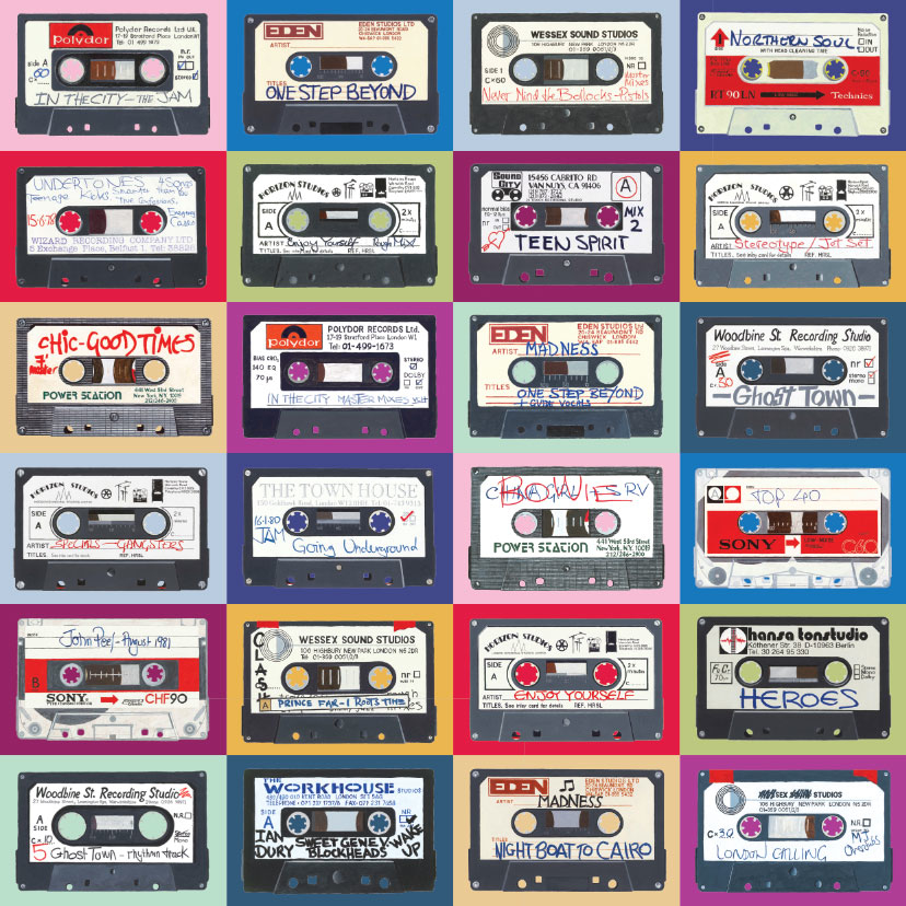 cassette-multi-technicolour Small