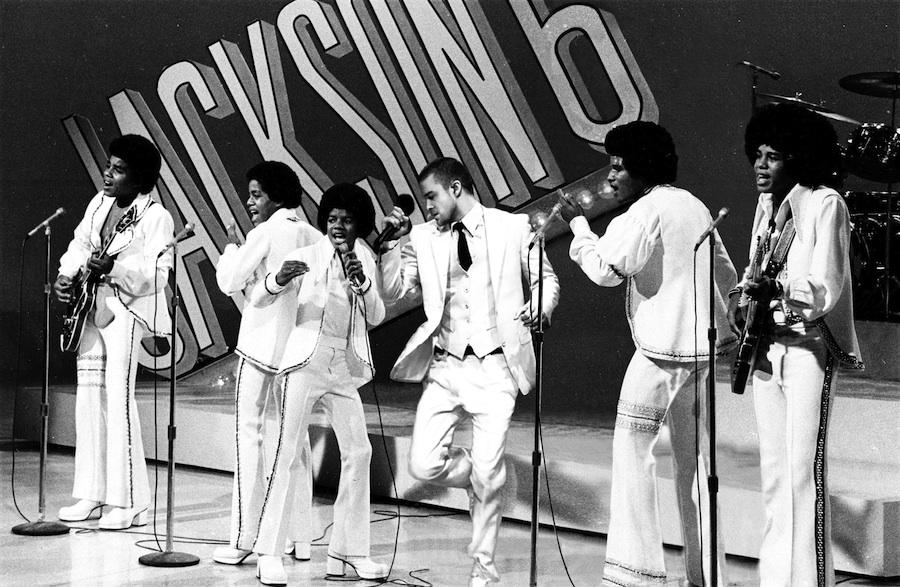 Michael Jackson, Marlon Jackson, Tito Jackson, Jackie Jackson, Jermaine Jackson