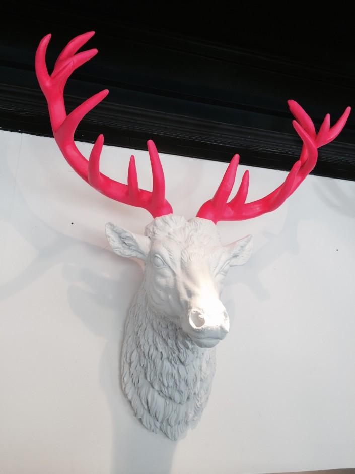Art rebellion stag head
